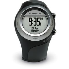 Garmin Watch. Makes counting your miles easy!