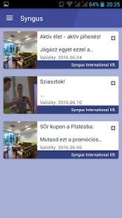Syngus – képernyőfelvétel indexképe