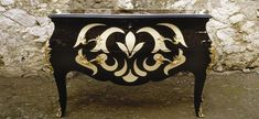 Silver Leaf Furniture DIY | ... mix of the rustic elements with the silver and/or gold leaf...Amazing