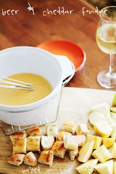 Fondue is one of my favorite foods.  I make it every so often for special occassions. Last night, the neighbors came over for wine & appetizers.  This recipe is super easy and always delish!  I...