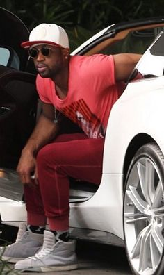 Dwyane Wade in Grungy Gentleman sweats and