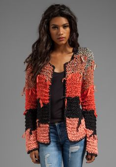 Crochet Patterns Sweaters Tigerlily Ginna Cardi in Goa Crochet Coat, Crochet Cardigan Pattern, Crochet Jacket, Crochet Clothes, Knit Cardigan, Coat Patterns, Clothing Patterns, Knitting Patterns, Crochet Patterns