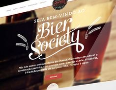 Bier Society is a brazilian social network for people who loves beer and want to share their knowledge. Their goal is to reunite those who are not searching for mass consume, but the perfect combination of ingredients on a beer. after all, beer is art.T…
