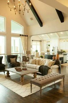 Living room arrangment
