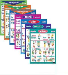 Shop Staples® for Basic French Verb Posters - Present Tense (7 pack) and enjoy everyday low prices, and get everything you need for a home office or business. Get free shipping on orders of $45 or more and earn Air Miles® REWARD MILES®.