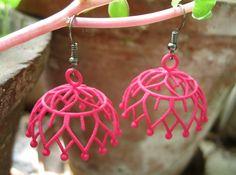 Lotus Jhumka - Indian Bell Earrings by braun