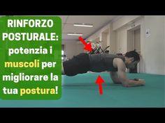 ALLENAMENTO di RINFORZO POSTURALE: potenzia i muscoli per MIGLIORARE LA TUA POSTURA - YouTube