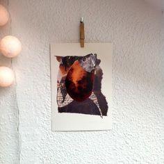 """Lámina WILD THINGS III.Colección """"Wild Things""""Edición Limitada firmada por Marina Guiu.Impresión digital sobre papel Conqueror de 300 gr.Medida A4 ( 21 x 29,7).Para más información:espacio-store@hotmail.com"""