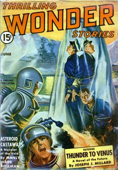 Thrilling Wonder Stories – British Thermal Units (June 1942) by Earle K. Bergey | Flickr - Photo Sharing!