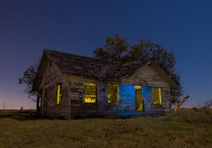 Thunder and Lightning's foster home in Texas, the house in which they were turned to vampires, and given their destiny.