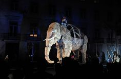 The Journey Of The Elephant play inspired by José Saramago's book.   Lisbon, Portugal.