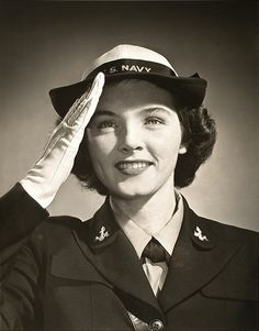 "30 Jul 42: The ""Women Accepted for Voluntary Emergency Services"" (WAVES) is authorized by the US Congress as a division of the US Navy. Within their first year, the WAVES will be 27,000 strong. More: http://scanningwwii.com/a?d=0730&s=420730 #WWII"