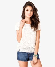 Floral Embroidered Top | FOREVER 21 - 2028060627