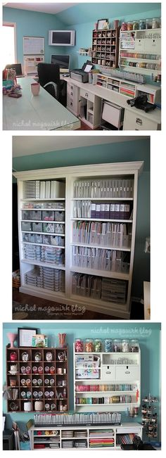 organizing tips, offic, paper storage, craft storage, craft room storage, scrapbook, storage ideas, craft studios, craft rooms