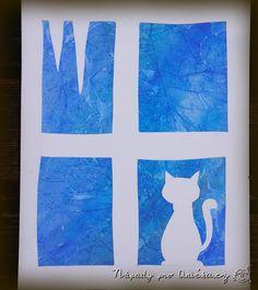 tvoření z papíru pro děti - Yahoo Image Search Results Winter Art Projects, Winter Project, Winter Crafts For Kids, Art For Kids, 1st Grade Crafts, Diy And Crafts, Paper Crafts, Classroom Art Projects, Art Lessons Elementary