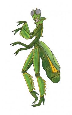 praying mantis costume - Google Search