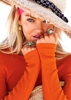 Candice Swanepoel by Patrick Demarchelier for Lucky magazine, June 2014.