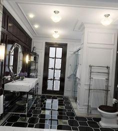 В гостиной в стиле Американской классики всегда устраивается камин. Он главное «действующее лицо» на всех домашних посиделках, вечеринках и мероприятиях.