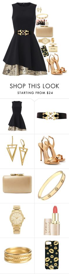 """""""Set #200"""" by kittykat10101 ❤ liked on Polyvore featuring Slate & Willow, Giuseppe Zanotti, Kayu, Cartier, Michael Kors, Temple St. Clair, Paul's Boutique and Dolce&Gabbana"""
