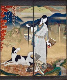 Kobayakawa Kiyoshi 小早川清 - Princess Fuse (Fusehime 伏姫)