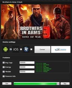 Brothers in Arms 3 Hack http://abiterrion.com/brothers-in-arms-3-hack-tool/