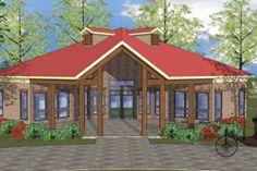 Southern Front Elevation Plan #8-241 - Houseplans.com
