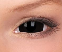 make your Halloween look scary with Mini Black Sclera Prescription Contact Lenses from Sclera Lenses Cosplay Contacts, Halloween Contacts, Halloween Makeup, Halloween Ideas, Halloween Queen, Cosplay Makeup, Halloween Decorations, Prescription Contact Lenses, Make Up