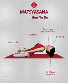 How to do Fish Pose Kids Yoga Poses, Yoga For Kids, Learn Yoga, How To Do Yoga, Yoga Asanas Names, Ramdev Yoga, Yoga Transformation, Morning Yoga Flow, Yoga Hair