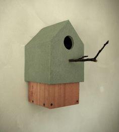 Birdhouse in Contemporary minimalistic  Design