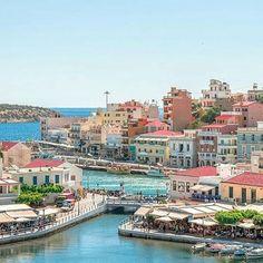#AgiosNikolaos #Crete island~   By @marc_nouss.