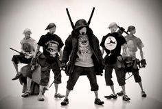 ThreeA Tomorrow kings by Ashley Wood Character Concept, Character Art, Concept Art, Character Design, Post Apocalyptic Fiction, Urban Rivals, Crazy Toys, Ashley Wood, Space Pirate