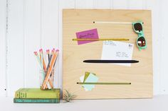 12 Ways to Organize with Office Supplies