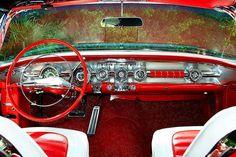 1958 Pontiac Bonneville Convertible - Pristine Classic Cars For Sale Retro Cars, Vintage Cars, Antique Cars, My Dream Car, Dream Cars, Car Part Art, General Motors Cars, Rolling Car, Dashboard Car