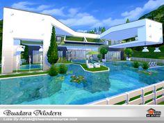 Buadara Modern by autaki at TSR via Sims 4 Updates