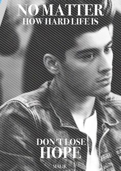No words. So very beautiful. This needs to be on every single Zayn Malik board.