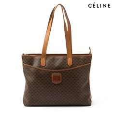 Celine PVC MacAdam Tote Bag - Brown When it comes to style 49b2ab13f88ce