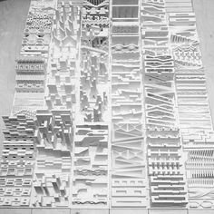 If this is not amazing then what is it? #maud #urban #urbanism #Harvard #harvardgsd #models #studio #elements #manhattan #nyc #typology #block #city #blackandwhite #design #gsd #3dprinting by marios_b