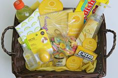 A little basket of sunshine for people who are going though a ruff time!