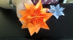 Origami Lotus Water Lily flower instructions