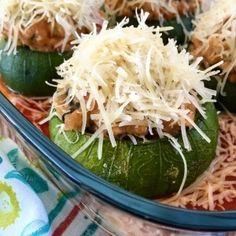 Zapallitos rellenos | Inutilisimas Keto, Cooking Together, Empanadas, Cabbage, Grains, Good Food, Rice, Ideas, Hams