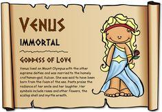 Roman Mythological Figures (Females) - Treetop Displays - Printable EYFS, KS1, KS2 classroom displays & primary teaching resources