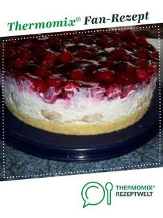 Windbeuteltorte für Eilige Cream puff cake for those in a hurry by A Thermomix ® recipe from the category baking sweet www.de, the Thermomix ® community.