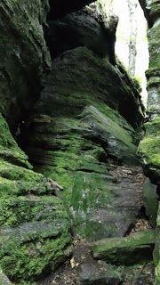 Mom's Island: Panama Rocks, NY