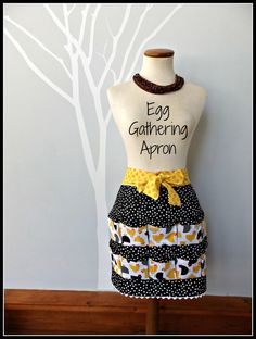 Yoder egg apron for gathering eggs aprons eggs and the egg