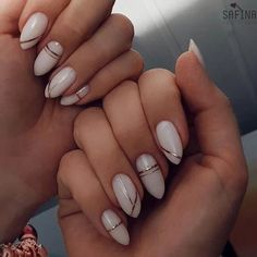 Here are 50 beautiful attractive nail designs for women who will marry 201 . - Nail Art Ideas Here are 50 beautiful attractive nail designs for women who will marry 201 . - Nail Art Ideas, nails H Classy Nails, Stylish Nails, Cute Nails, Pretty Nails, Simple Nails, Fancy Nails, Acrylic Nail Designs, Nail Art Designs, Acrylic Nails