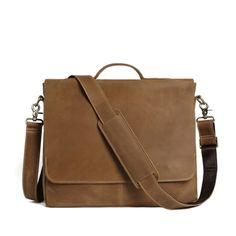 men urban fashion ROCKCOW Genuine Leather Laptop Shoulder Bag Crossbody Bag Leather Briefcase For Men 7108 *** AliExpress Affiliate's buyable pin. Find similar products on www.aliexpress.com by clicking the image #MensCrossbodyBagsLeather