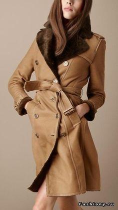 С чем носить дубленку (100 фото)! / как сочетать коричневый цвет дубленки