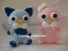 Gatito amigurumi tutorial, My Crafts and DIY Projects