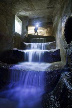 Underground waterways that lie unseen below cities (like Toronto)