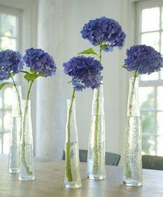 decoração com hortensias - Pesquisa Google